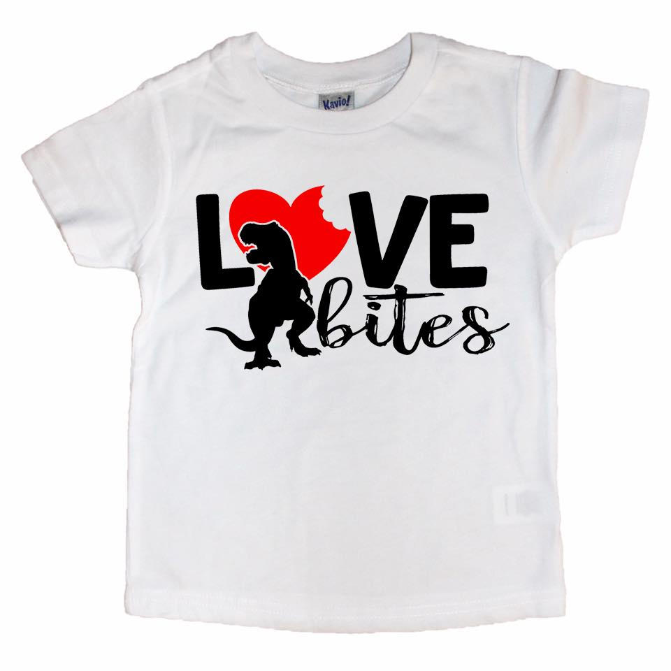 Kids Valentines Day Shirt Love Bites Bodysuit Shark Valentine/'s Day Bodysuit Valentine/'s Day Shirt Valentine/'s Day Gift