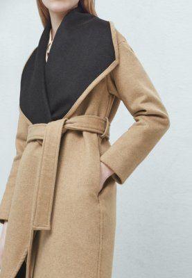 Manteaux en laine Mango TWIGY - Manteau classique - medium brown marron  clair  59,99 € chez Zalando (au 17 03 16). Livraison et retours gratuits et  service ... f1b4bcfb3b75