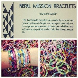 Bracelets For A Good Cause Nepal Mission Bracelet Gl Bead 12 00 Photo Fairtrade Fashion Designs