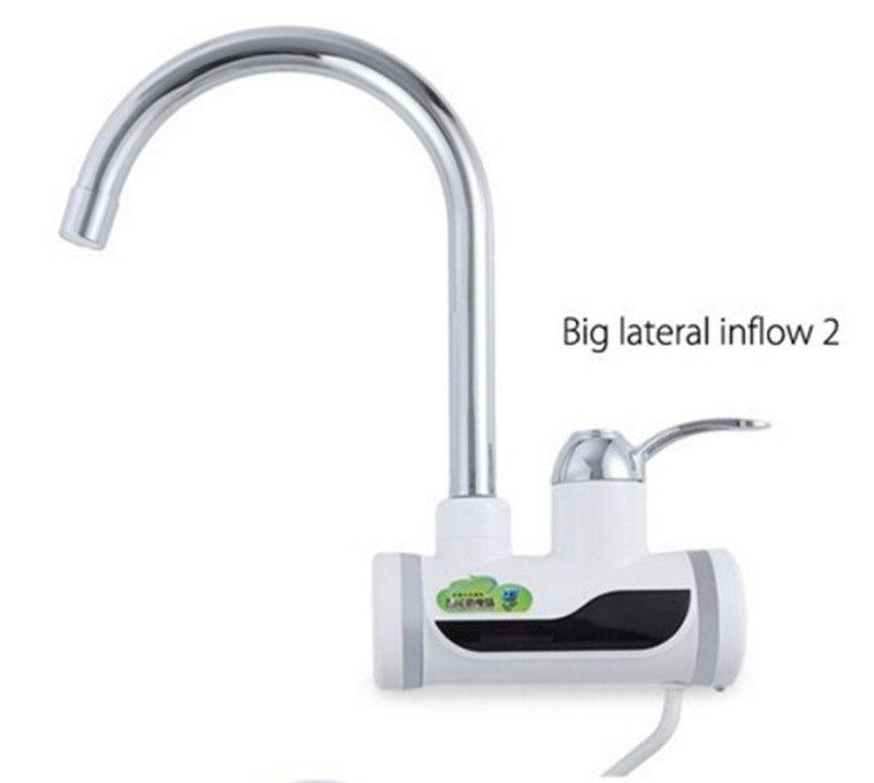 BD3000W-8, freies verschiffen, Digitalanzeige Instant - wasserhahn für küche
