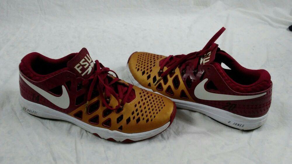 Florida State Seminoles Nike Train Speed 4.0 AMP Training Shoes 844102 617 NEW