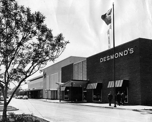1958 Desmond S Clothing Store Los Angeles Area Vintage Los Angeles Orange County California