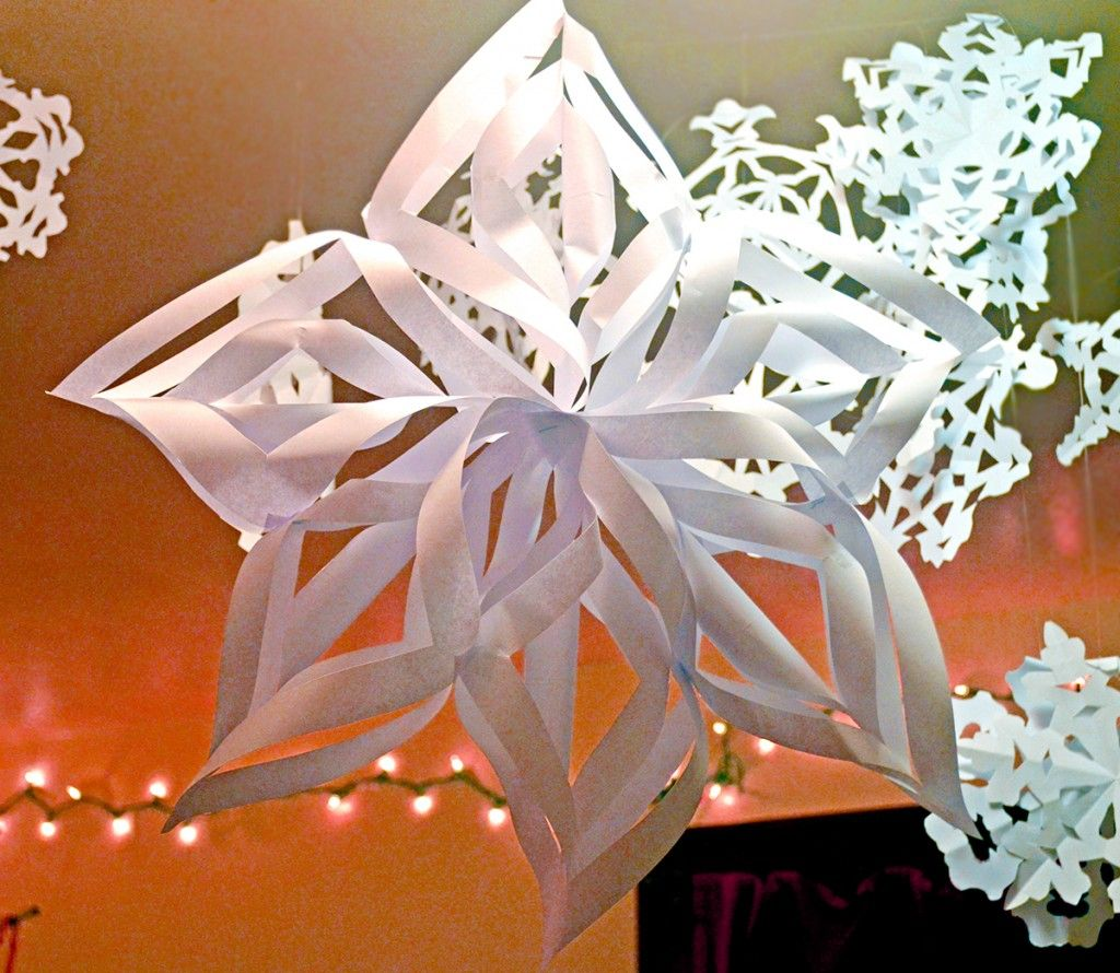 big new christmas decor snowflake decoration how decorations make large for to
