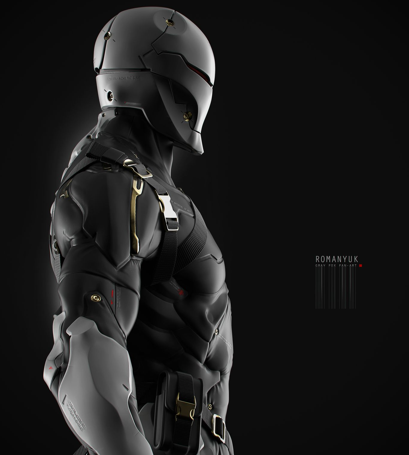 This is my version, and fan art works at the Gray Fox from