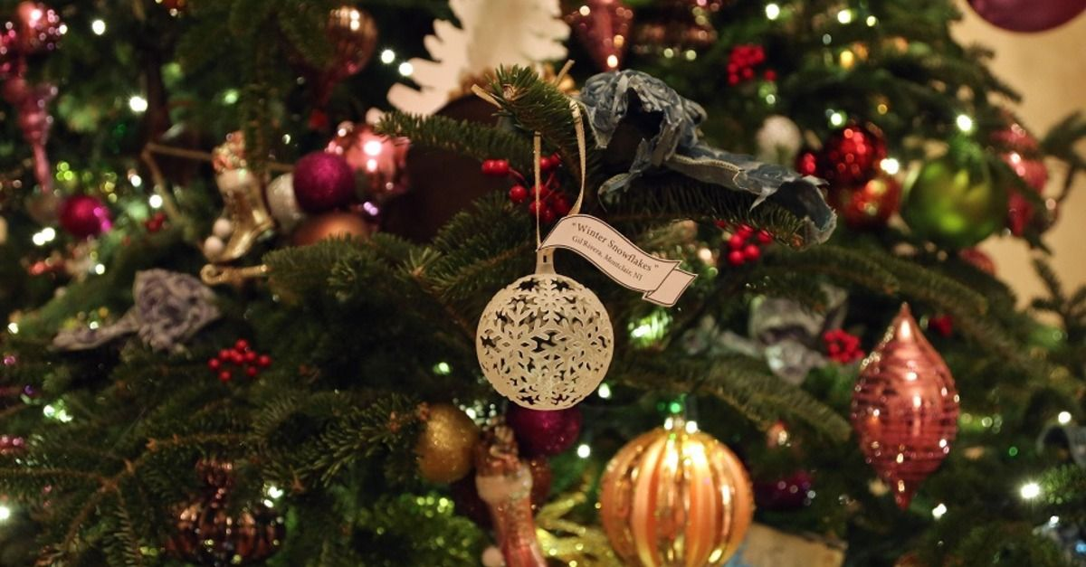 The White House's super hip 3D-printed holiday ornaments