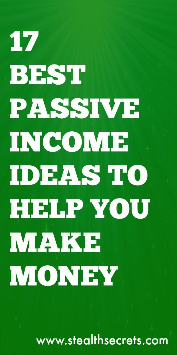 17 Die besten Ideen für passives Einkommen, um Geld zu verdienen   – Clever Ways To Make Money