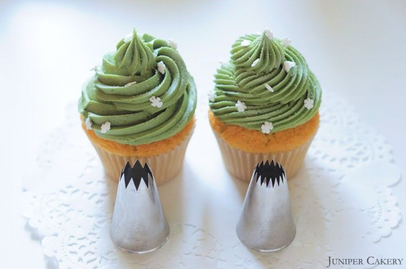 We love cupcakes: Piping tips 828 and 868 by Ateco | cupcake piping ...