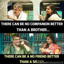 Image Result For Tamil Brother Sister Quotes Images For Facebook