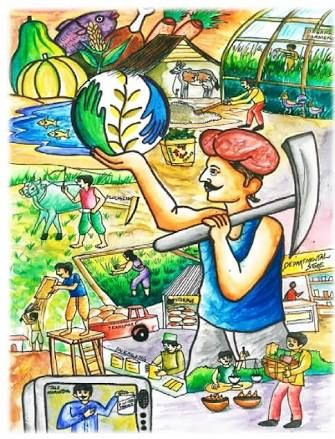 Kid art · drawing ideas · competition · images on save water ile ilgili görsel sonucu