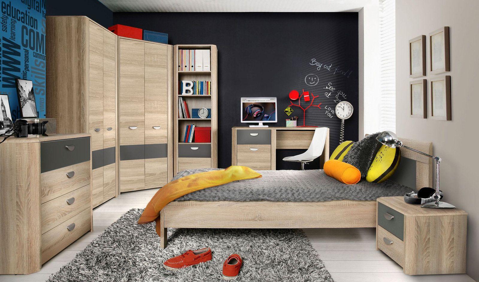 Modernes Jugendzimmerprogramm YOOP in der Farbkombination