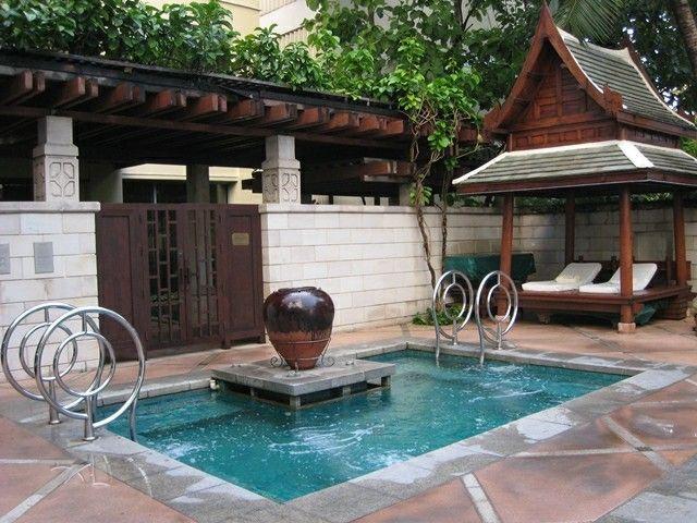 Jacuzzi jardin dise o estilo japones jard n pinterest for Diseno jacuzzi exterior