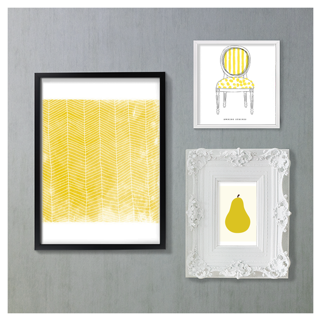 My Art Wall Inspiration Board, curated by JULIE at Minted