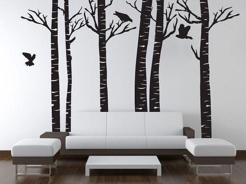 arboles decorativos en paredes buscar con google