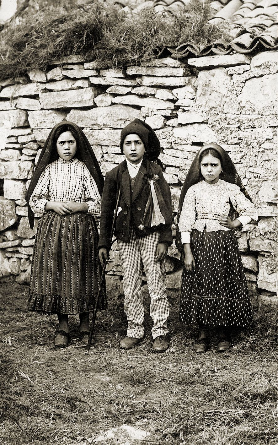 Visionaries Our Lady Of Fatima Lucia Francisco And Jacinta