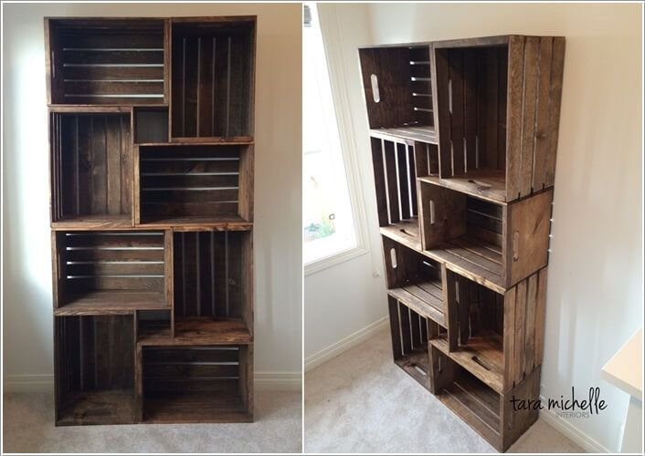 10 Cool Diy Bookcase Ideas That Won T Break The Bank 1