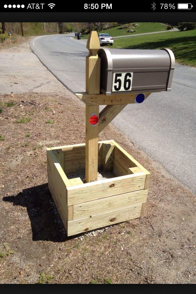Mailbox Planter Ideas Yard Work In 2019 Pinterest Planter