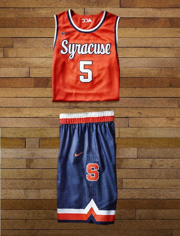 2014 Syracuse Nike Hyper Elite Dominance Uniform Uniforms Ncaam