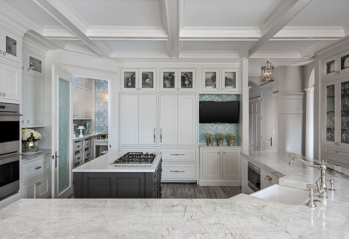 Dura Supreme Cabinetry With Silverton Door Style Inset With White Interesting Designer Kitchen Doors Design Inspiration