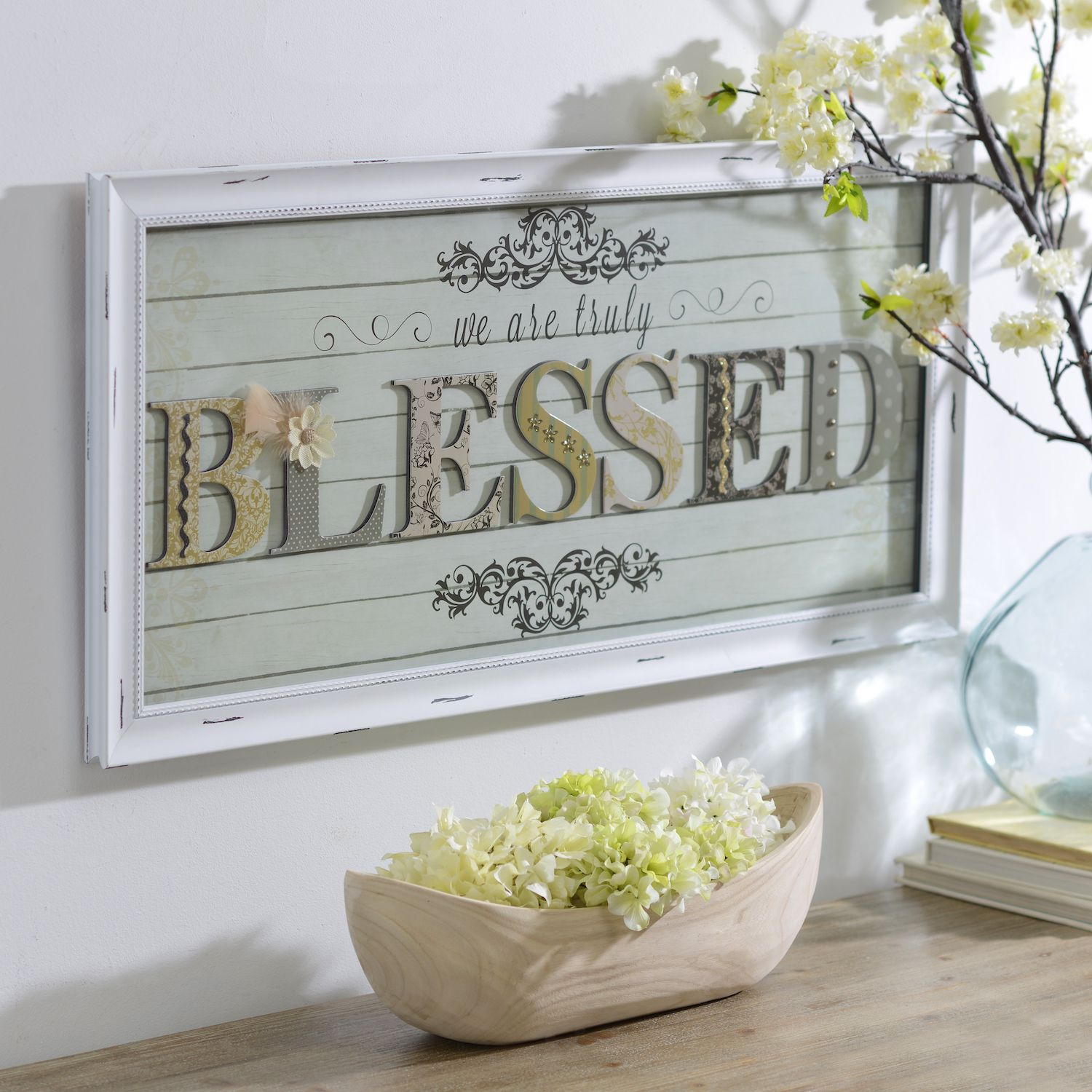 Find Gifts They Ll Love At Kirkland S That Provide Year Around Reminders Of Strong Faith The We Are Truly Blessed Shadowbox Is A Great Gift Adds