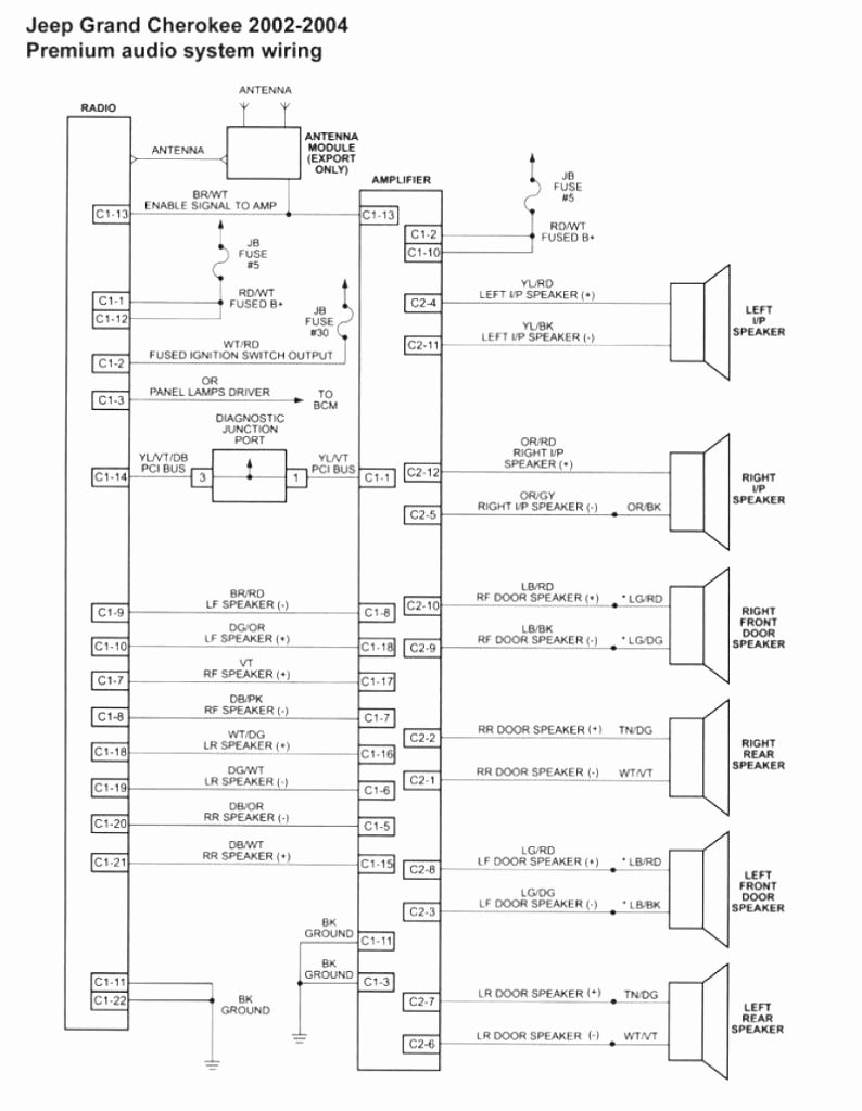 70 Elegant 2004 Jeep Grand Cherokee Radio Wiring Diagram in 2020 | Jeep  grand cherokee, Jeep grand, 1999 jeep grand cherokeePinterest