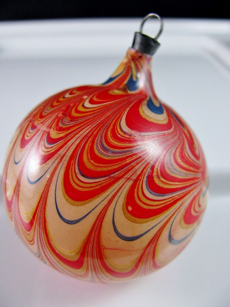 vintage END of DAY Christmas Tree Ornament * Germany ...
