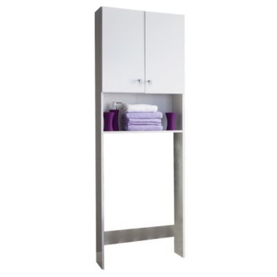 Dielfe mueble sobre inodoro blanco flavia pinterest for Mueble sobre inodoro