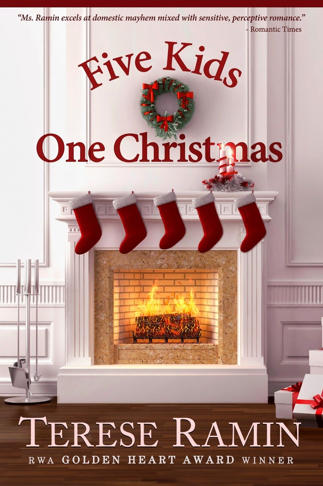 A Girl And Her Kindle: Five Kids, One Christmas (the Brannigan Sisters)