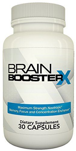 Brain Booster X Memory Focus And Concentration Supplement