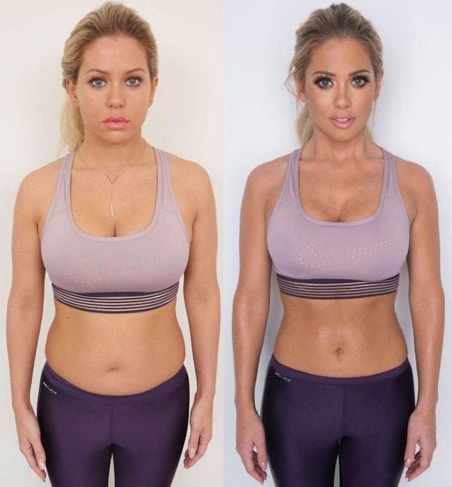 Bianca Gascoigne Weight Loss For Celebrity Big Brother