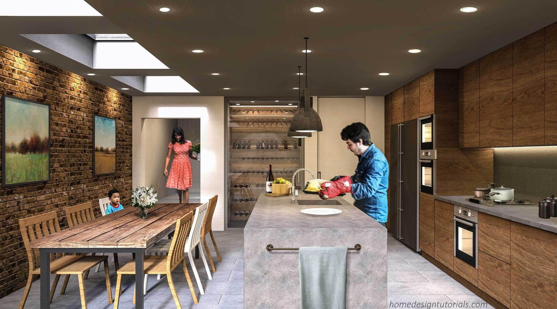 Kitchen Design Principles   Home Design Tutorials ...