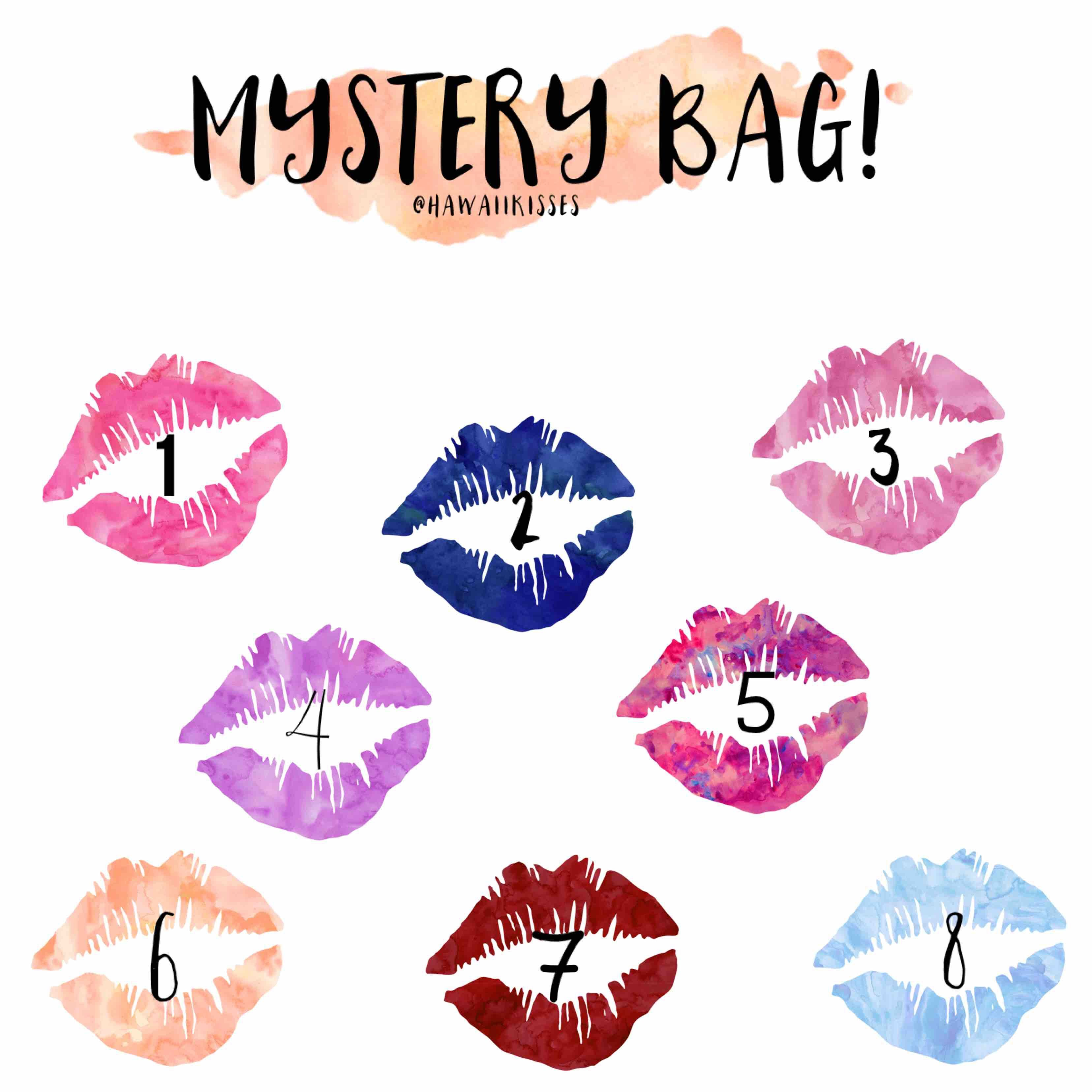 e730820ede Mystery Bag Sale!  40 each Gloss   Color! 2 have something extra  Www.facebook.com groups hawaiikisses  lipsense  mystery  senegence  makeup   sale  beauty   ...