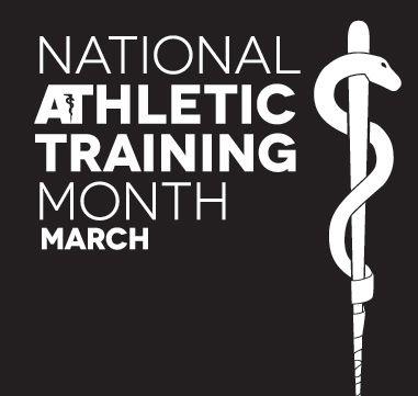 National Athletic Training Month - 2014 Logos | no year, no slogan