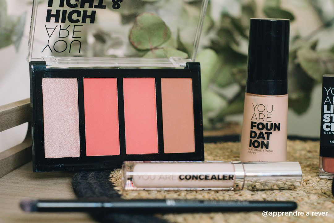 Palette Blush Bronzing and Highlighter réf 31102 You Are