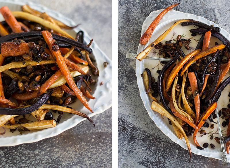 maple roasted carrot & parsnips : jessica cox | • Side ...