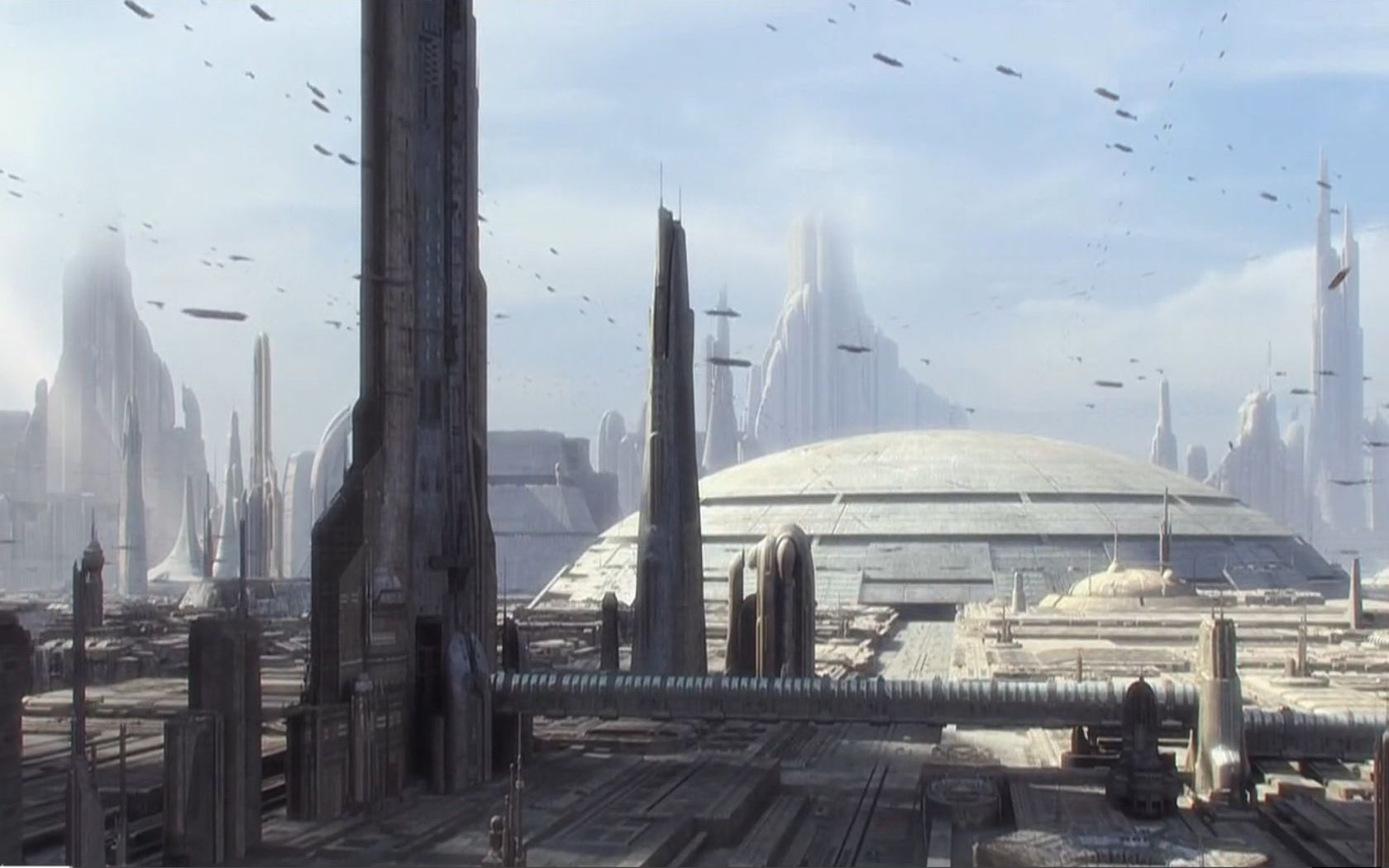 50 Of High Resolution Star Wars Wallpapers Star Wars Wallpaper Star Wars Episode Ii Futuristic City