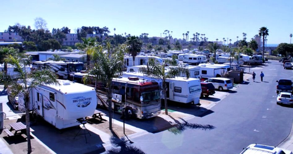 Paradise By The Sea Rv Resort Visit Oceanside Camping Resort Camping San Diego Oceanside California