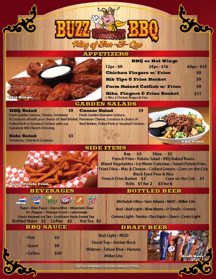 Bbq Restaurant To Consider Las Vegas Nv Bbq Menu Food