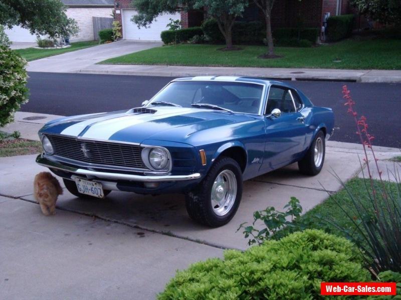 1970 Mustang Fastback For Sale Australia