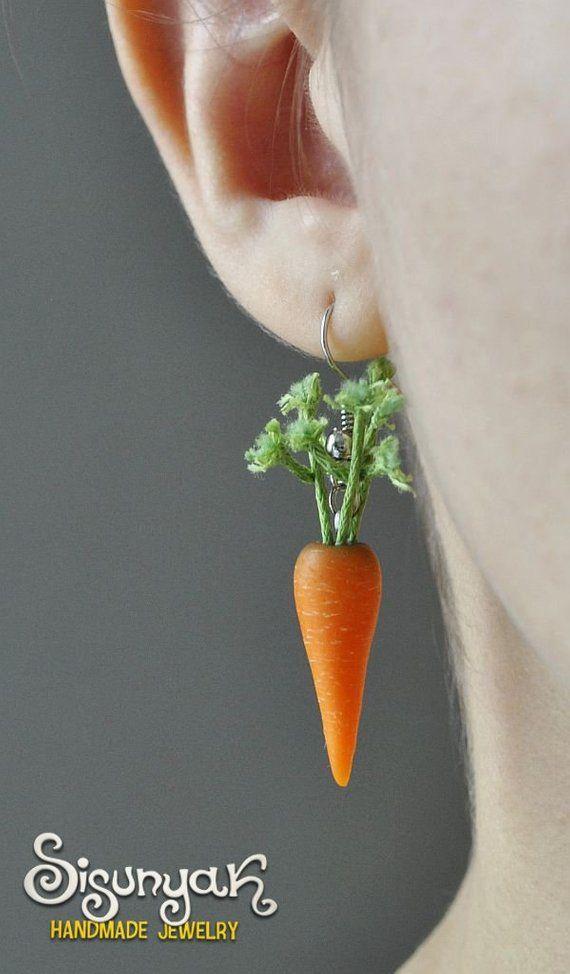 Aretes de zanahoria – Regalos para ella