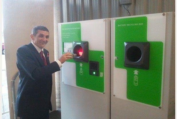 Fancy a free drink? IKEA Milton Keynes Light Bulb Recycling