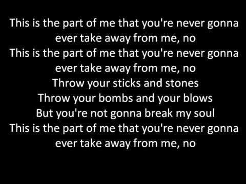 Katy Perry Part Of Me Lyrics On Screen Youtube Music