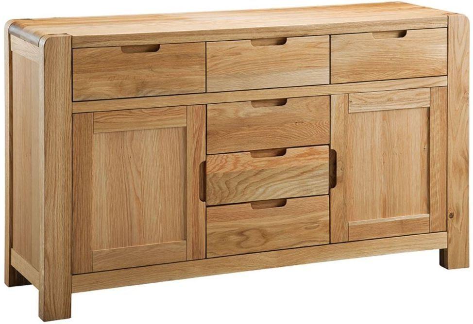 Classic Oslo Large Wide Sideboard Oak Oak Sideboard Large