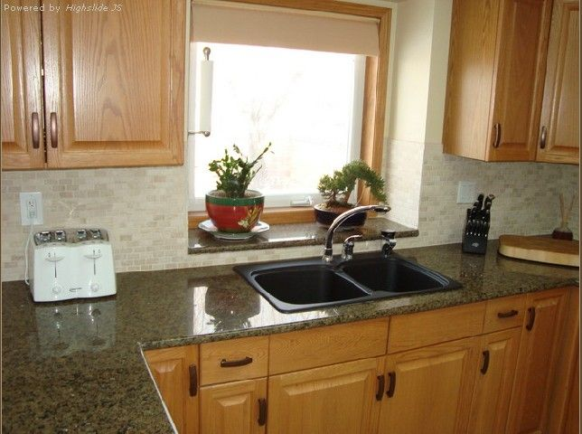 Good Tropic Brown Granite Backsplash Ideas Part - 2: Tropical Brown Granite Kitchen Countertops