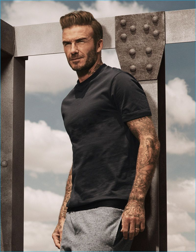 david beckham is casual vision for fall 39 s h m bodywear outing men 39 s fashion campaigns. Black Bedroom Furniture Sets. Home Design Ideas