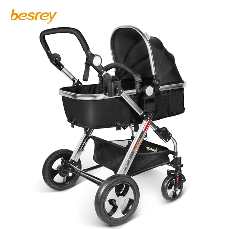 Besrey Stroller Is A 3 In One Stroller, Baby Carrier, Pram