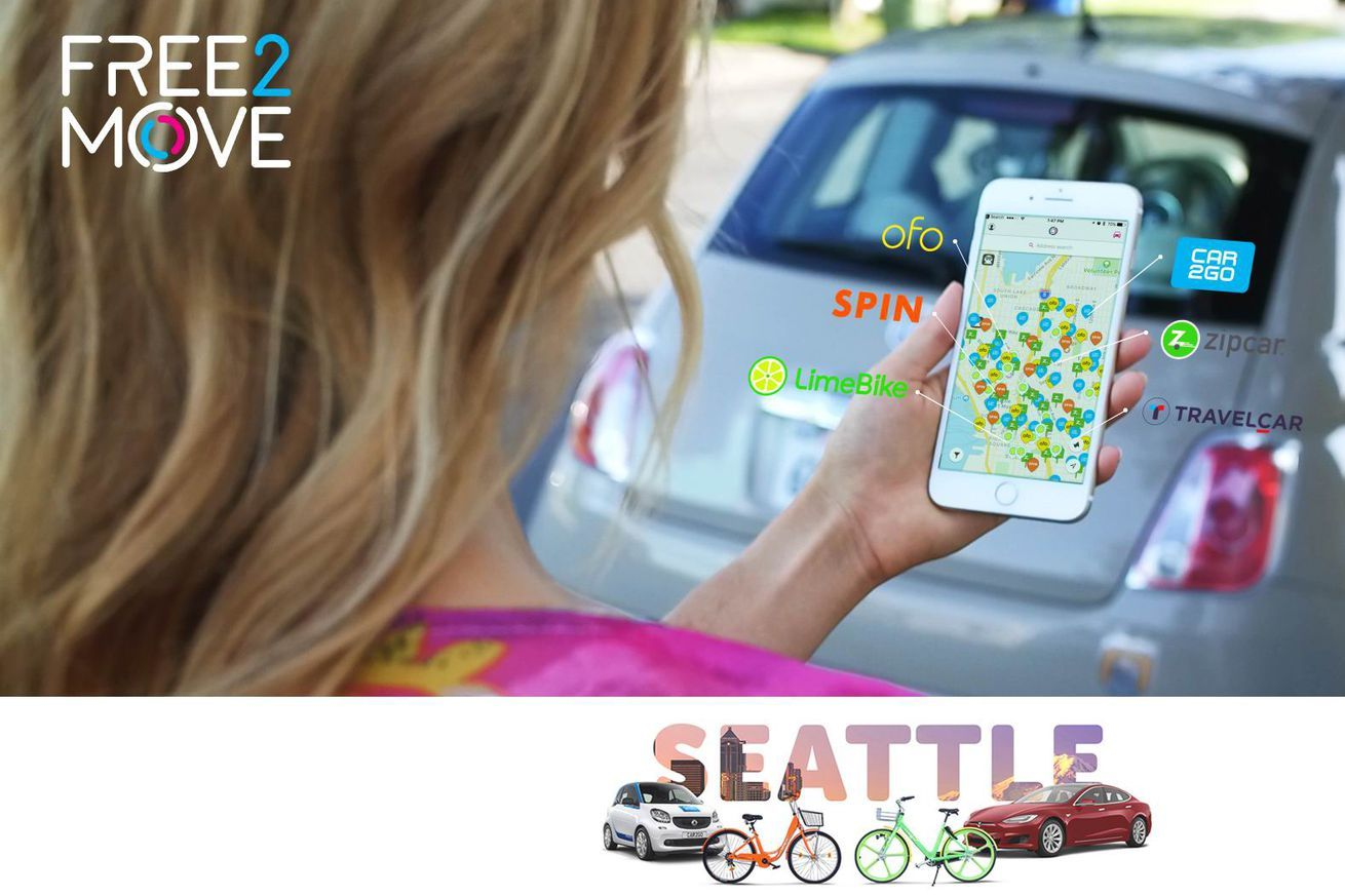 Free2move A Car And Bike Sharing App Aggregator Launches In Us