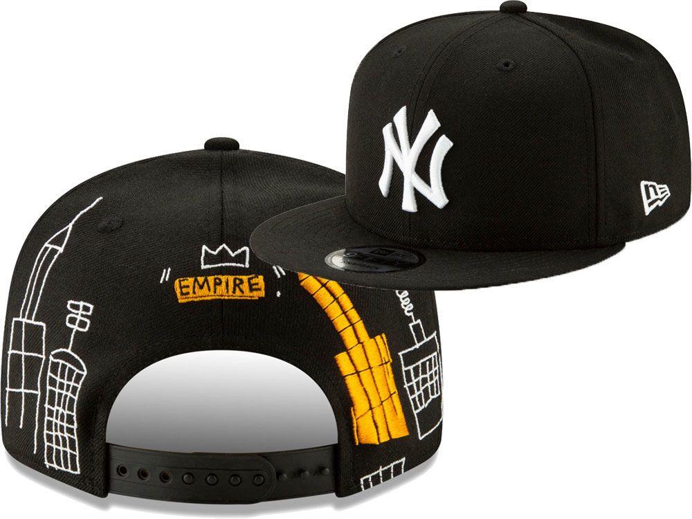 e09e5191 New York Yankees New Era MLB Jean-Michel Basquiat Collection 9FIFTY ...