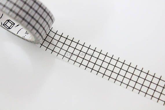 Grid Washi Tape Planner Diary Decor Bullet Journal Decor