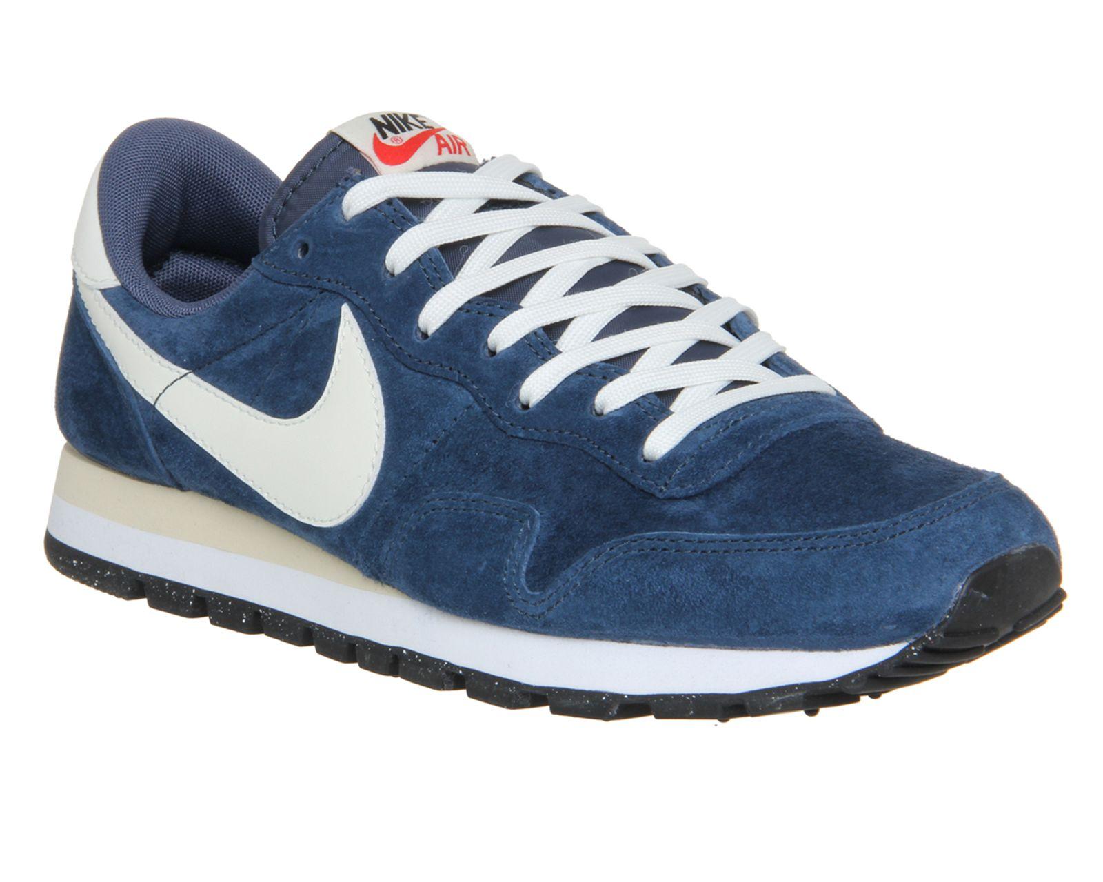 Nike Nike Air Pegasus 83 Squadron Blue Sail Leather - His trainers