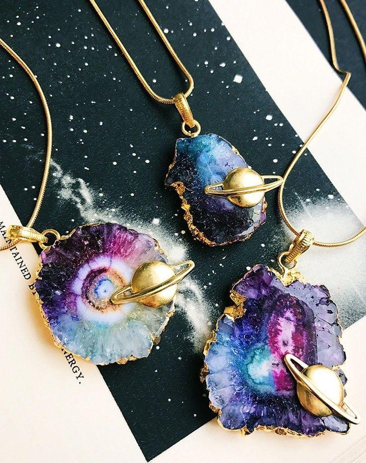 El collar más increíble, para llevar una constelación entera en tu corazón ($614)  #collar #constelacion #corazon #entera #increible #llevar #craftstosell